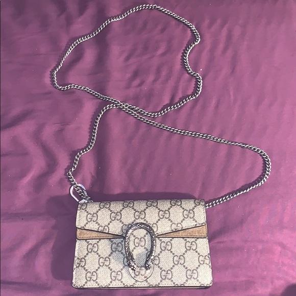 Gucci Handbags - DIONYSUS GUCCI SUPREME SUPER MINI BAG